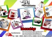 bordados computarizados productos presonalizados  promocianales  copias e impresiones